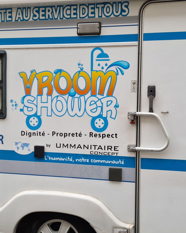 camping car vroom shower