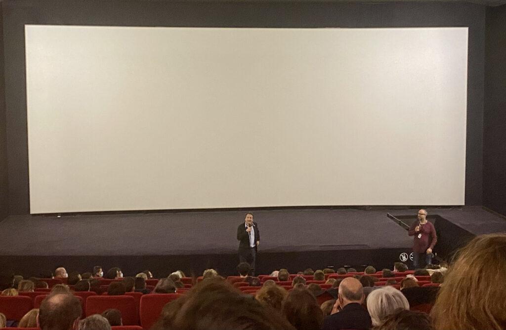 Edouard Baer au cinéma Comoedia, Lyon 7e @Jeanne Le Bihan