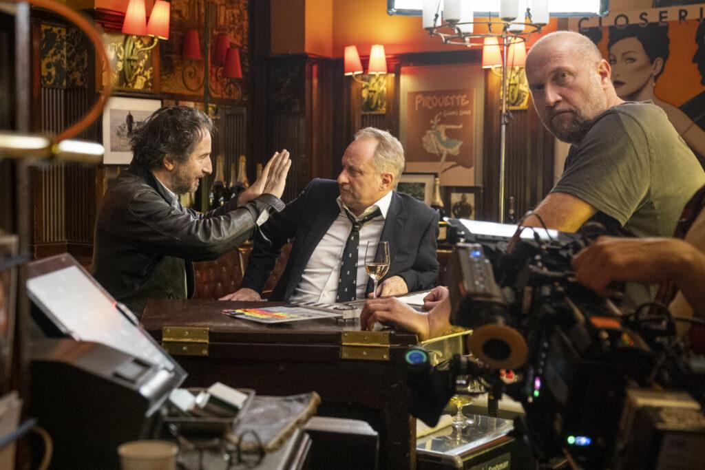 Extrait du tournage du film Adieu Paris ! @Le Pacte critique