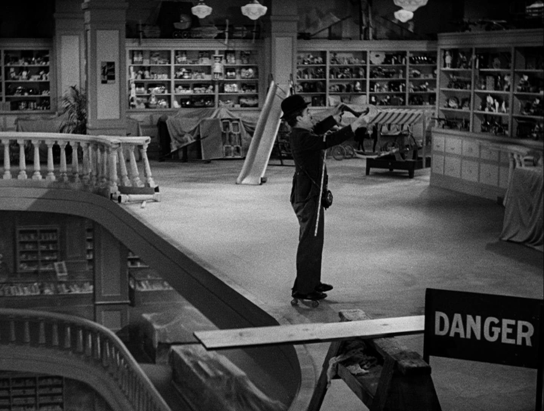 Les temps modernes, Charlie Chaplin